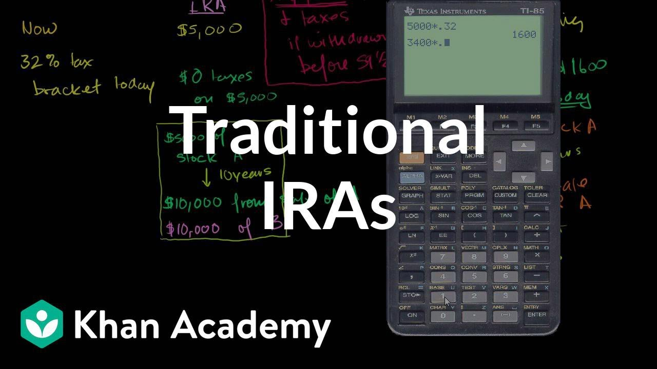 Traditional IRAs | Finance & Capital Markets | Khan Academy