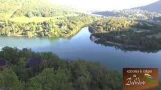 Cabanes & Lodges du Belvedère dans la haute vallée de l'Ain