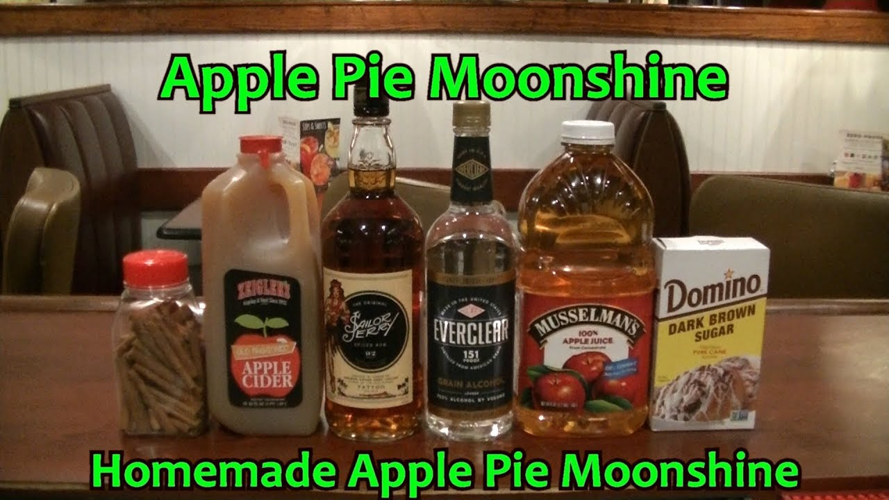 Apple Pie Moonshine Recipe Best Homemade Moonshine Apple Pie Recipe Easy