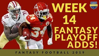 Week 14 Waiver Wire: Help For The Fantasy Football Playoffs