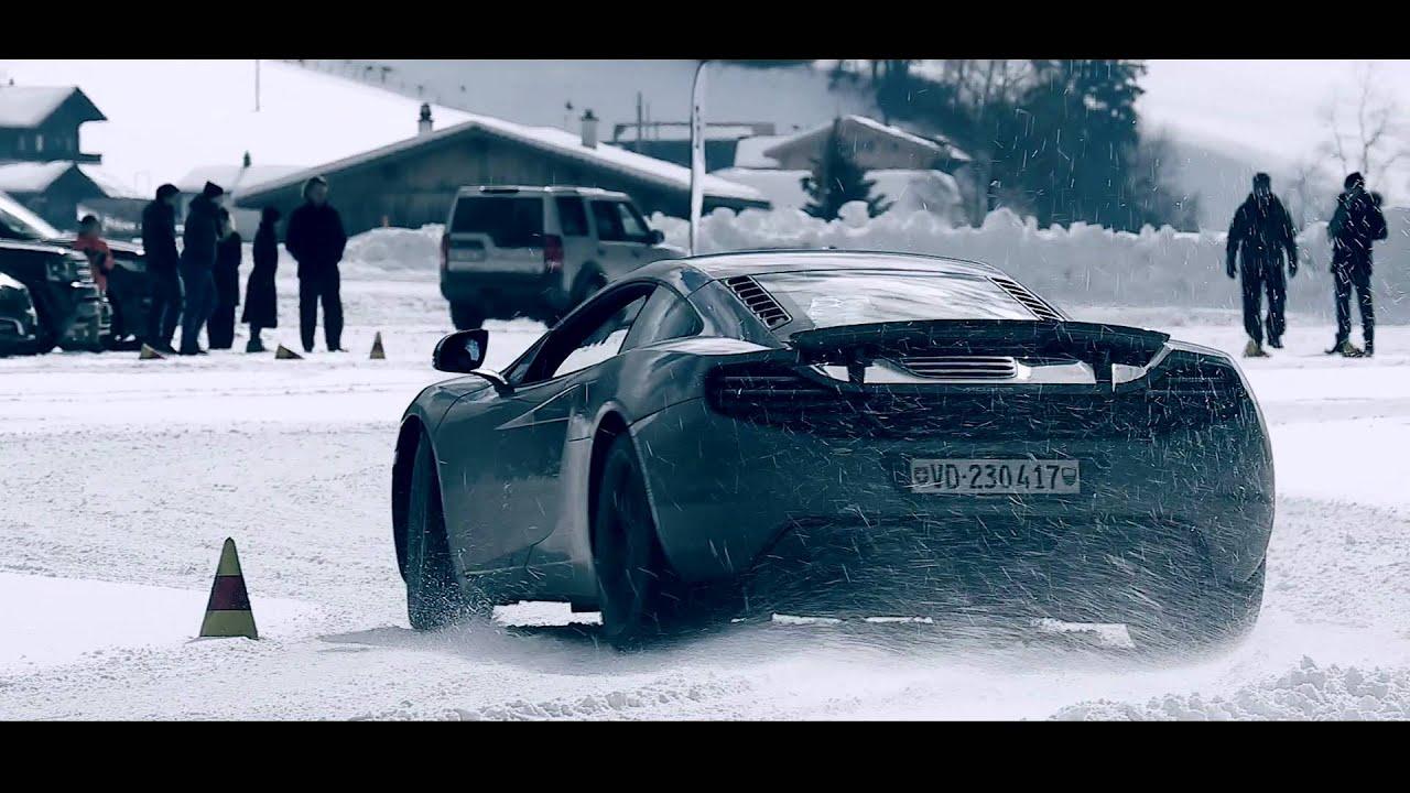 Speed Skating - Ice Driving With McLaren Geneva