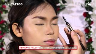 REVIEW K PALETTE BY  Arm'makeup Artist VS เนย รักษ์โลก Thumbnail
