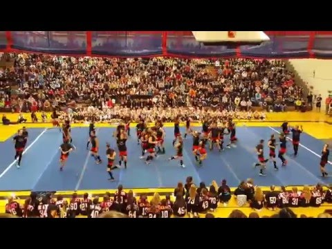 WTHS 2015 senior powder puff cheer
