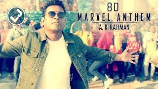Marvel Anthem | 8D Audio |Tamil |A R Rahman