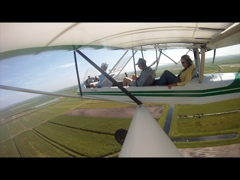 Sailing up the Caloosahatchee River in my Air Cam Aircraft Part 2