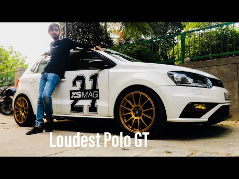 Loudest Polo GT In India...❤️