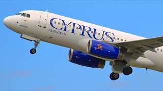 Cyprus Airways - The Last Goodbye - Airline Closed,  Last Takeoffs From Larnaca - Plane Spotting