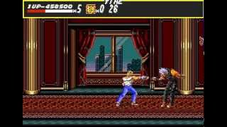 Mega Drive Longplay [322] Streets of Rage (a)