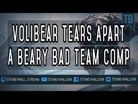 Volibear Tears Apart A Beary Bad Team Comp