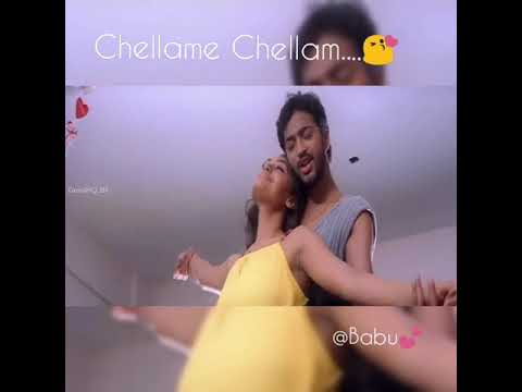 Chellame chellam... | trendboss😎| tamil love whatsapp status