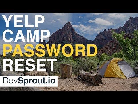 Node JS Password Reset Walkthrough - YelpCamp Tutorial