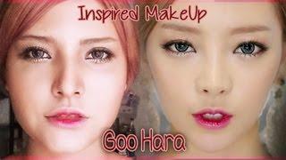 MAKEUP TUTORIAL KARA(카라) Goo Hara (구하라) Damaged Lady (숙녀가 못 돼) Inspired Look Thumbnail