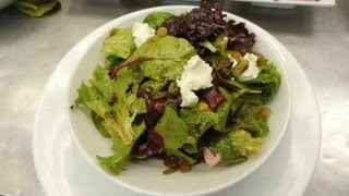 Baby Beets & Goat Cheese Salad : Delectable Dishes