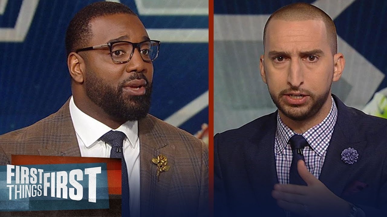 Nick Wright and Chris Canty's X-Factors for Cowboys-Seahawks Wk 3 matchup | NFL | FIRST THINGS FIRST