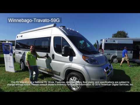 New 2020 Winnebago Travato 59GL Motor Home Class B at Barber