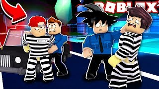 WE TURN COPS AND ARREST CRIMINALS IN ROBLOX! (Mad City)