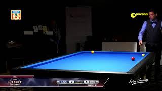 #8 - Ergun TUNA vs Hugo PATINO / 2018 USBA 3 Cushion National Championship