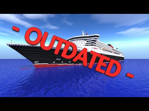 Minecraft RMS Queen Mary 2