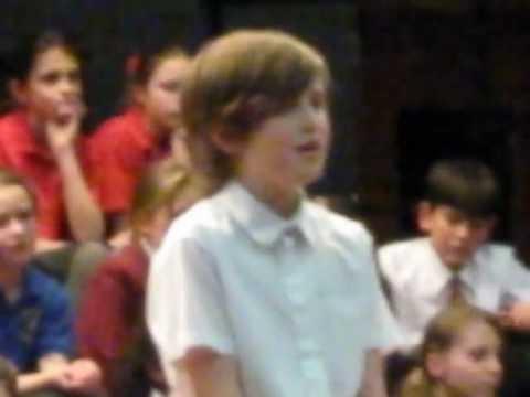 Joel Hunt sings Gary Barlow and Andrew Lloyd Webber's Sing