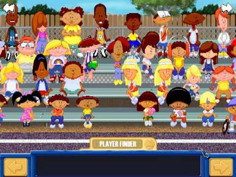 backyard basketball pick players theme youtube