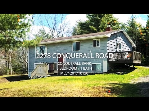 2278 CONQUERALL ROAD, CONQUERALL BANK