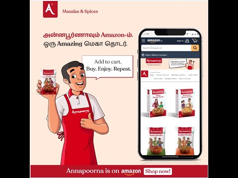 Available on Amazon and Flipkart   Authentic Masala - Annapoorna Masalas & Spices