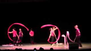 Chinese Ribbon Dance Performance