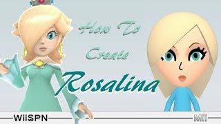 Mii Make: How To Create Rosalina!