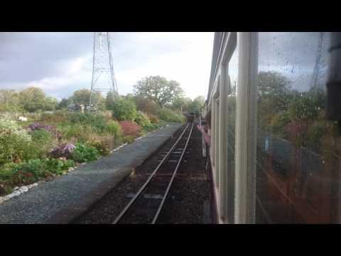 Gravity train Ffestiniog railway October 15th 2016