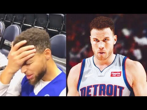 Stephen Curry reacts to Blake Griffin Trade to Pistons and Talks No-Trade Clause!