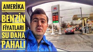 Amerika Benzin Fiyatları   Burada Benzin Sudan Ucuz ! America Gas Price $