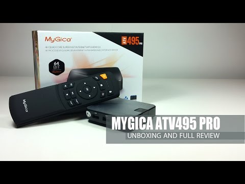 MyGica ATV 495 Pro S905 16GB - Android smart tv box un boxing and Full Review