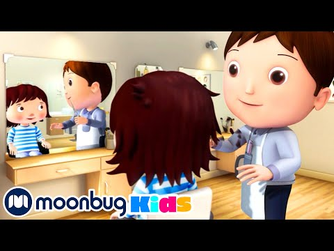 Getting A Hair Cut | Going To The Hairdresser | Original Songs | By LBB Junior