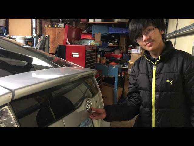 How To Manually Open Trunk Hatch Toyota Prius Gen Ii 2004 2009 When Battery Is Dead Or Disconnected Youtube