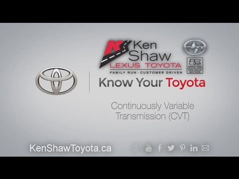 Know Your Toyota Mechanical: Continuously Variable Transmission (CVT)