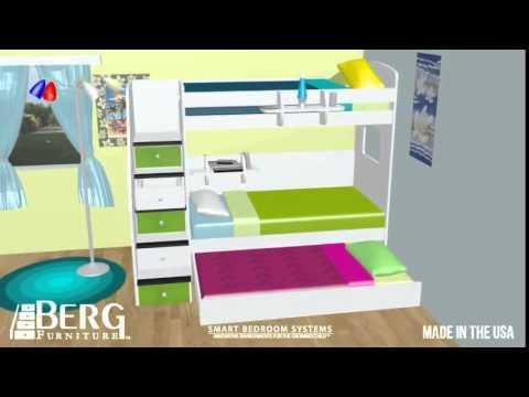 Kidzone + Berg Furniture U003d Great Bedroom Solutions!