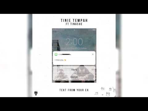 Tinie Tempah - Text From Your Ex ft. Tinashe (Clean)