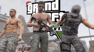 The Drill Sergeant's Winter Wonderland (GTA 5 RP Multiplayer RolePlay)