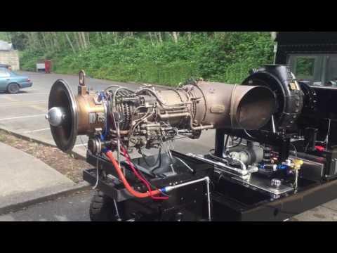 Advance Aerospace Inc. GE CT58 / T58 Engine Test Cell