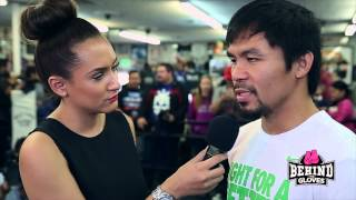 Manny Pacquiao on guitar playing, Tim Bradley Rematch + more! thumbnail