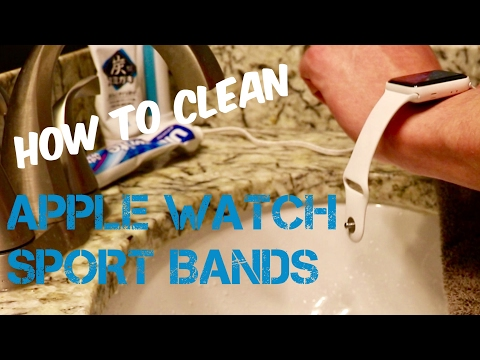 How To Clean Apple Watch Sport Bands