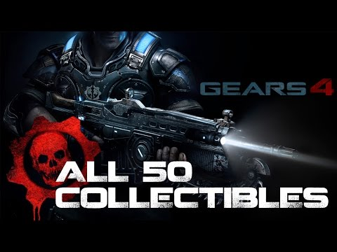 Gears of War 4 • All 50 Collectibles Locations • COG Tags + MORE