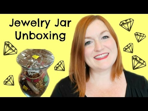 Jewelry Jar Unboxing, Will I find Treasures?! Finding Gold in Jewelry Jars, Money Selling Online