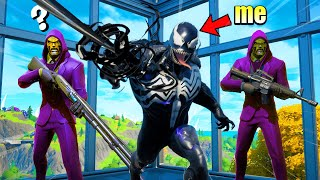 I Pretended to be VENOM in Fortnite