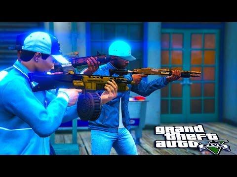 GTA 5 ONLINE - Bloods vs Crips LIVESTREAM