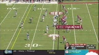 2018 USC vs Coastal Carolina - 5 Plays, 76 Yards, 45 Seconds