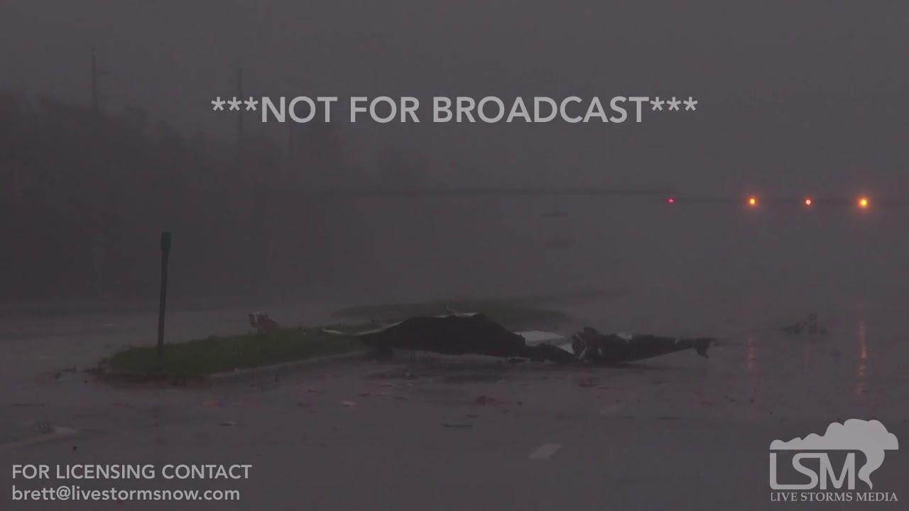 9 10 2017 Naples Fl Hurricane Irma Eyewall Damage Debris