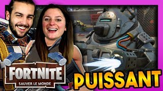A BIG NOUNOURS WE HELP! FORTNITE SAUVER THE WORLD DUO EN