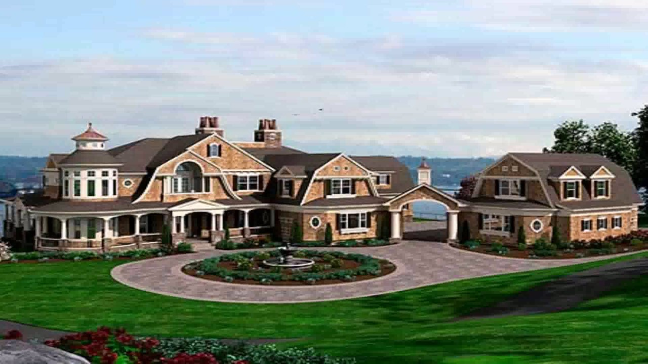 Luxury craftsman style house plans for Craftsman luxury homes
