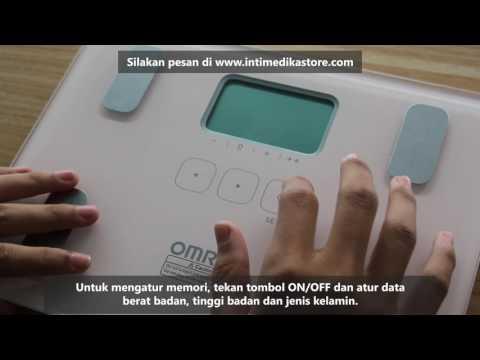 Cara Penggunaan Timbangan Badan Digital OMRON Karada Scan HBF 212 - Intimedikastore.com